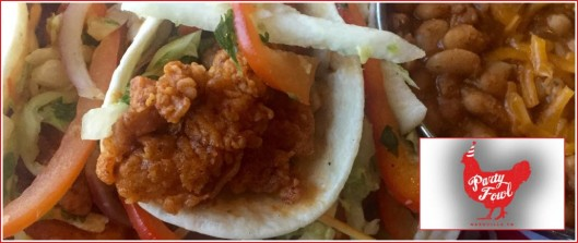 Party Fowl Nashville Chicken Taco