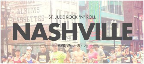 """St. Jude Rock 'N"""" Roll Nashville Marathon 2017"""