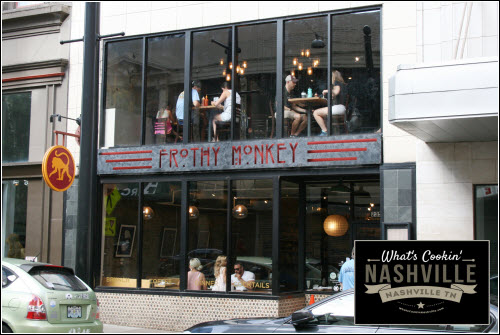 Frothy Monkey Downtown Nashville What's Cookin' Nashville