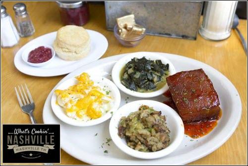 Meat & Three Nashville What's Cookin' Nashville