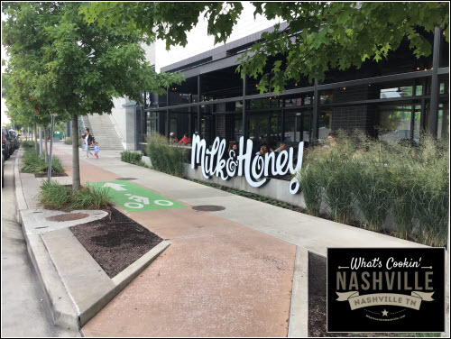 Milk & Honey The Gulch Nashville TN What's Cookin' Nashville