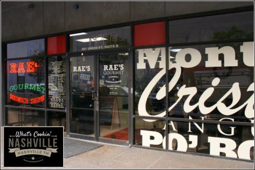 Rae's Gourmet Sandwich Shop What's Cookin' Nashville