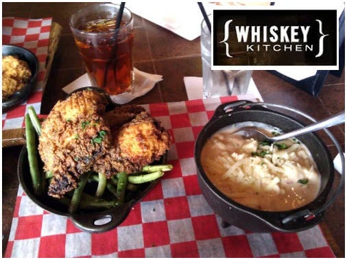Whiskey Kitchen Nashville TN Hot Chicken and Mac and Cheese