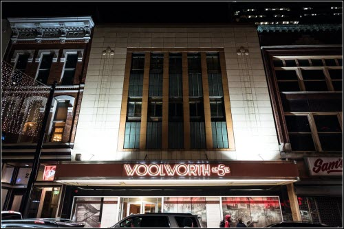 Woolworth Nashville TN Night