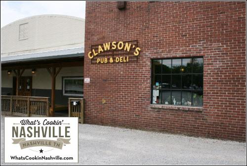 Clawson's Pub & Deli What's Cookin' Nashville